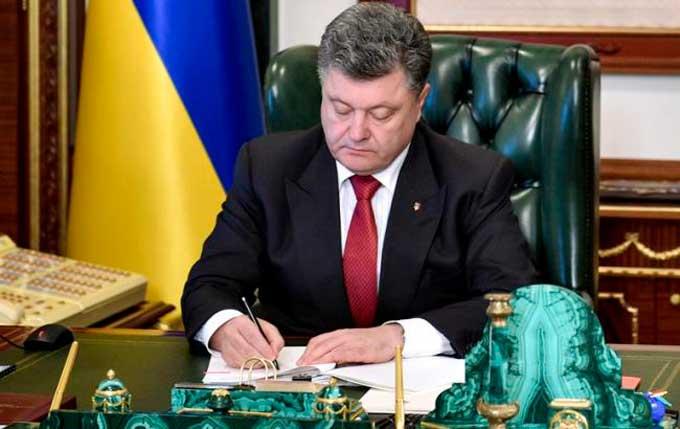 Порошенко утвердил санкции против России, в списке более 400 лиц
