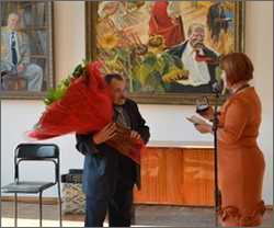 Черкаському митцю вручили нагороду