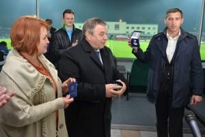 Голова Черкаської ОДА нагородив Мішеля Платіні