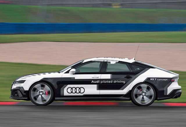 Audi построила самый быстрый автомобиль-беспилотник в мире