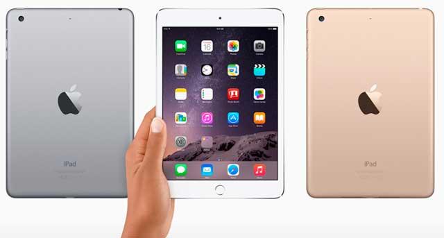 Apple выпустила незначительно обновлённый iPad mini 3