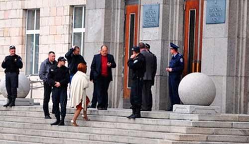 Повідомлення про замінування Черкаської обласної адміністрації не підтвердилося