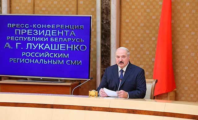 Лукашенко разорвал российских журналистов