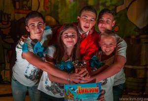 Збірна команда КВН Чорнобаю «Дорослі діти» стала переможцем фестивалю «ЖАРТ-ПТИЦЯ-2014»