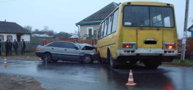 Внаслідок ДТП в Смілянському районі травмовано п'ять осіб