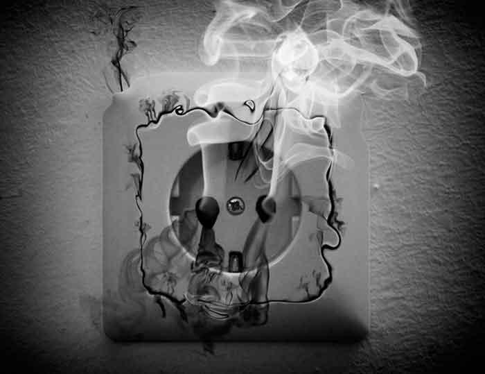 Через коротке замикання сталося дві пожежі