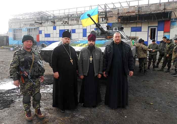 Священики Черкаської єпархії відвідали зону АТО