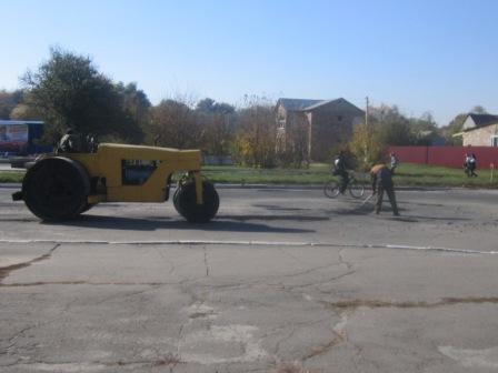 У Катеринопільському районі проводиться ремонт доріг