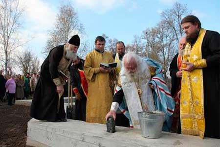 Московський патріархат укріплюється на Черкащині - в Смілі заклали новий храм