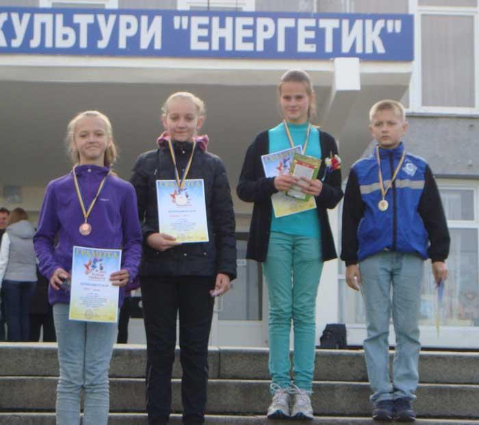 Черкасці орієнтувальники у командному заліку стали бронзовими призерами чемпіонату України