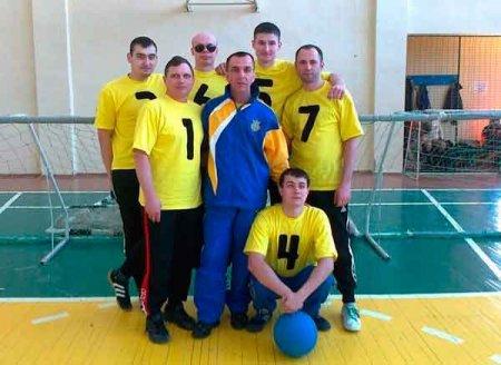 Черкасці - призери чемпіонату України з голболу