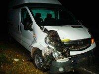 В результате столкновения микроавтобуса и мотоблока погибли двое человек