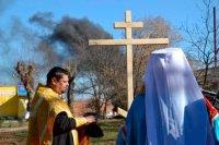 У Золотоноші освятили місце під храм на честь черкаського святителя