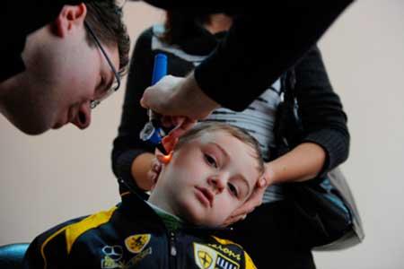 В Черкассах обустроят учебно-реабилитационный центр для детей с недостатками слуха