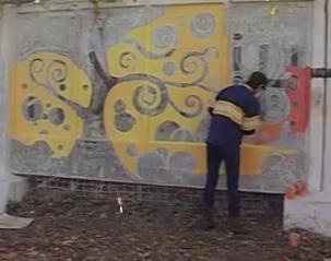 У Черкасах визначали кращих вуличних художників