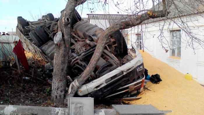 На Лисянщині через несправність гальм загинув водій вантажівки