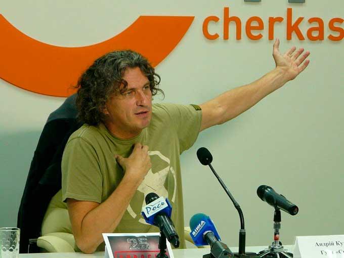 Скрябін назвав Черкаси «середньостатистичним постсовковим містом»