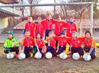 турнір з футболу «Діти – за мир»