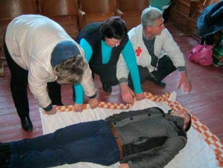Красный Крест Звенигородки учил педагогов первой медицинской помощи