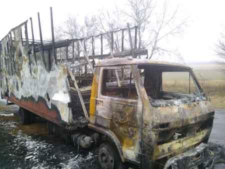 У Корсунь-Шевченківському районі згоріло авто, збиток 100 000 гривень