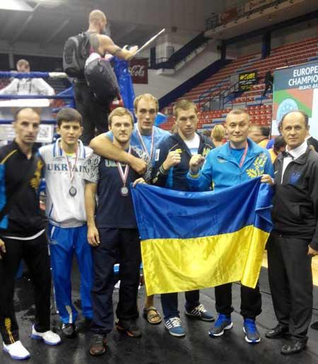 Две бронзы получили черкасские кикбоксеры на чемпионате Европы