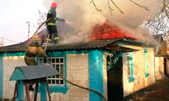 Христинівський район: рятувальники ліквідували в житловому будинку пожежу