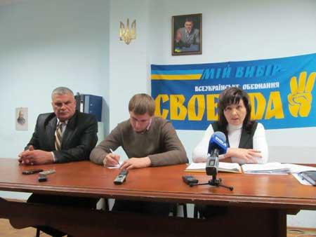 «Свобода» відізвала з посад голів РДА Корсунщини і Жашківщини