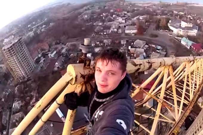«Черкаський Мустанг» зняв з висотного крану відеопанораму міста