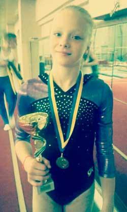 Валерія Ярмоленко здобула срібло на чемпіонаті України з спортивної гімнастики
