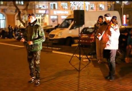 Черкасець написав пісню, присвячену подіям Майдану