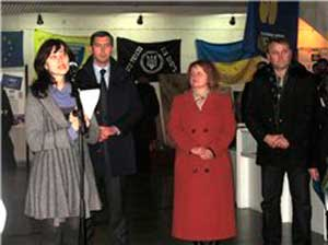 У Черкасах запрацювала виставка, присвячена подіям Євромайдану