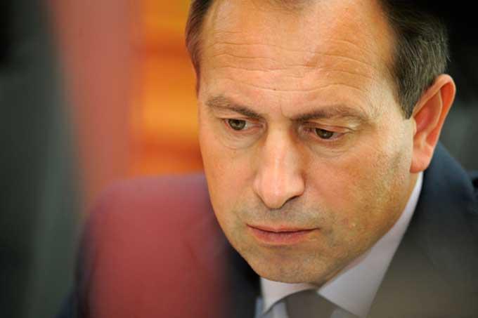 Томенко в Черкасах нагадав Яценюку про його права