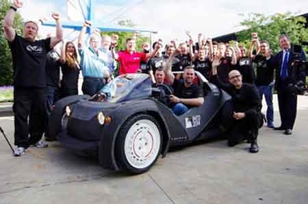 У Чикаго роздрукували автомобіль на 3D-принтері