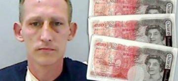 Воры приняли салфетки за пачки с купюрами по £50