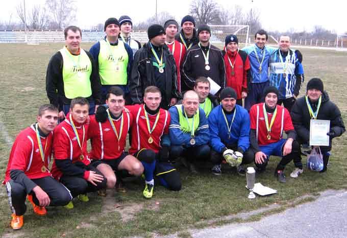 В Чигирине прошли соревнования по футболу на Кубок АПК