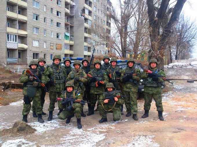 """Поряд із донецькими """"кіборгами"""" воюють черкаські міліціонери"""