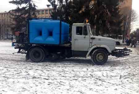 Одарич оцінив роботу з прибирання снігу на четвірку