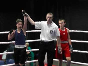 13-річний черкащанин виборов золото на всеукраїнському турнірі з боксу!