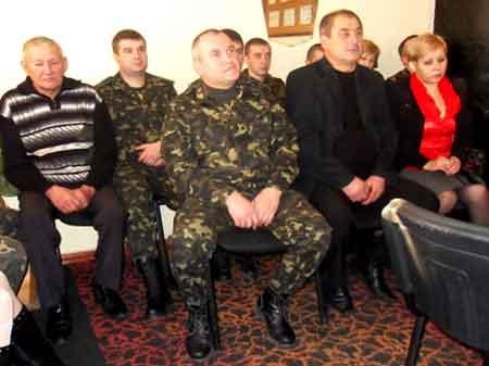 На Христинівщині привітали військових