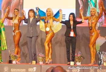 Черкащанка вдруге стала чемпіонкою світу з фітнесу