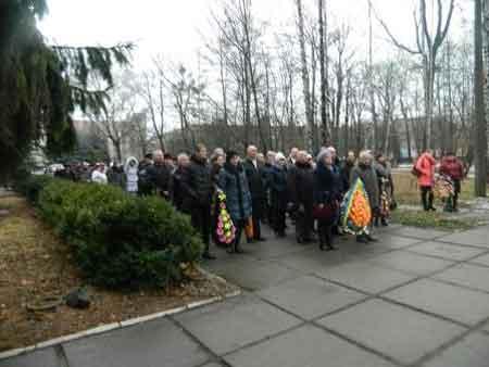В Шполі вшанували ліквідаторів аварії на Чорнобильській АЕС