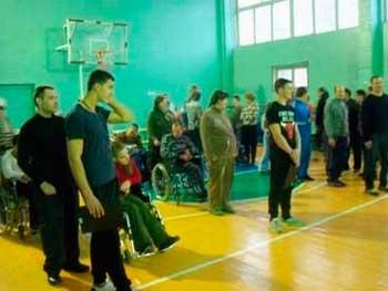 В Черкассах соревновались особые спортсмены