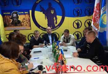 У Черкасах створили організацію «Воїни АТО Черкащини»