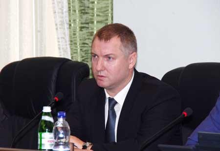 Колективу прокуратури представили новопризначеного першого заступника прокурора області Сергія Овчаренка