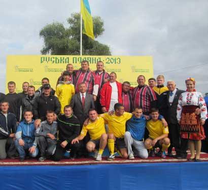 Руськополянські спортсмени знову перші в районі