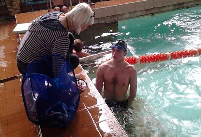 Черкаський плавець здолав рак мозку і мріє про Олімпійські ігри