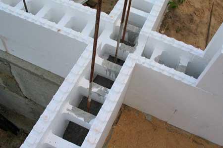 Будинки по технології будівництва з незнімної опалубкою