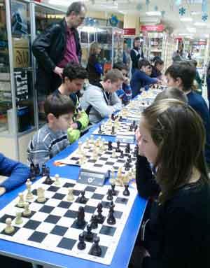 У Черкасах відбувся шаховий турнір