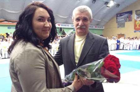 Сапсай отримала посвідчення майстра спорту міжнародного класу