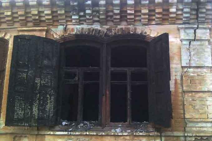 Пожежники не помітили будинок, що горів біля їх частини